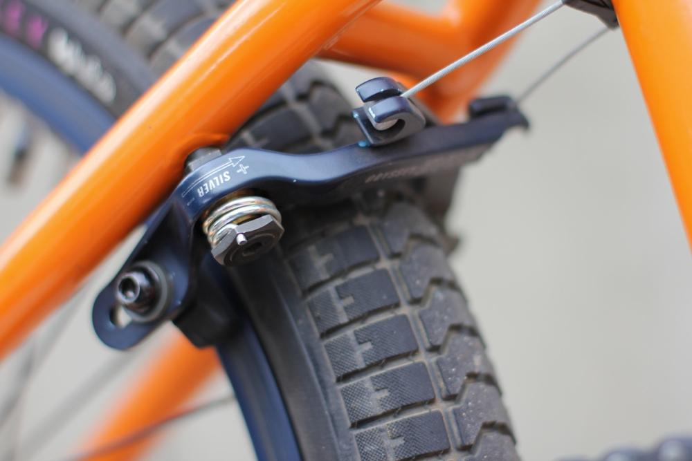Odyssey BMX Evo II brakes