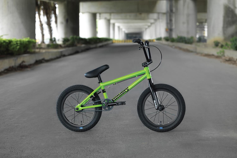 ABD BMX Grips Flo Green