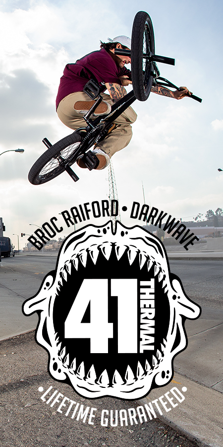 Broc Raiford rides the Darkwave